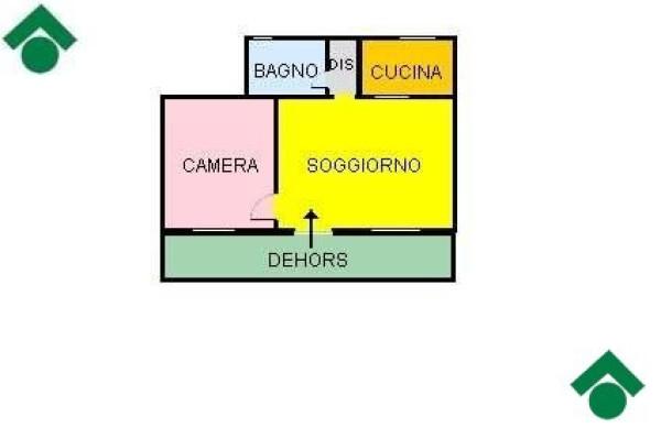 Bilocale Milano Via Comune Antico, 11 2