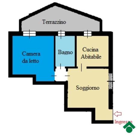 Bilocale Pioltello Via Andrea Mantegna 5