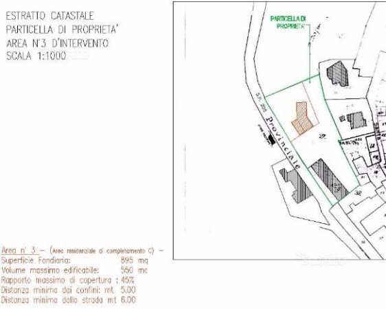 Terreno residenziale in Vendita a Cassinelle: 895 mq