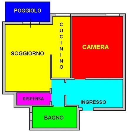 Bilocale Genova Via Pasquale Berghini 10