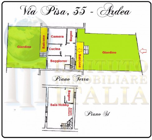 Bilocale Ardea Via Pisa 2