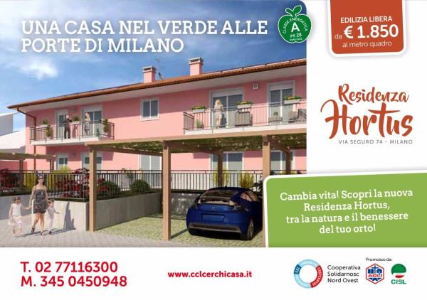 Bilocale Milano Via Seguro 12