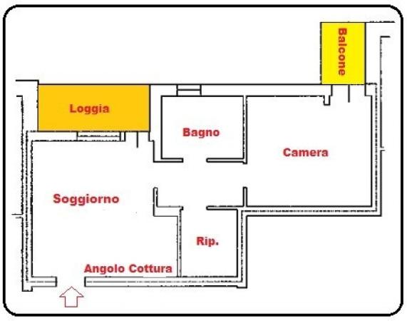 Bilocale Baricella Via Giovannini 2