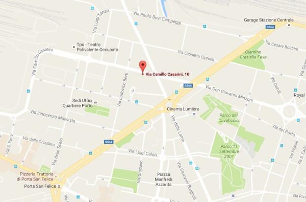 Bilocale Bologna Via Camillo Casarini 12