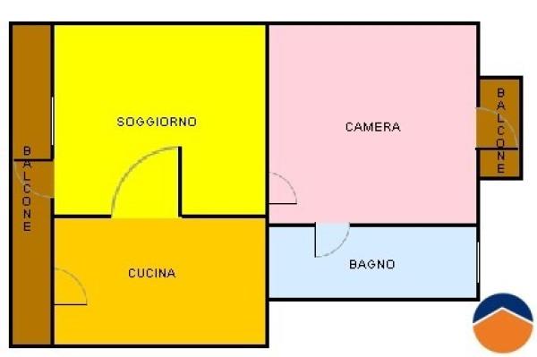 Bilocale Carignano Via Carlo Forneri 2