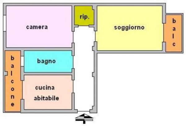 Bilocale Sesto San Giovanni Via Marsala 10