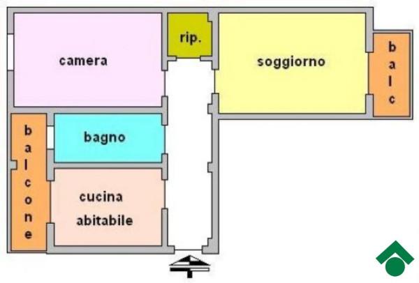 Bilocale Sesto San Giovanni Via Marsala 8
