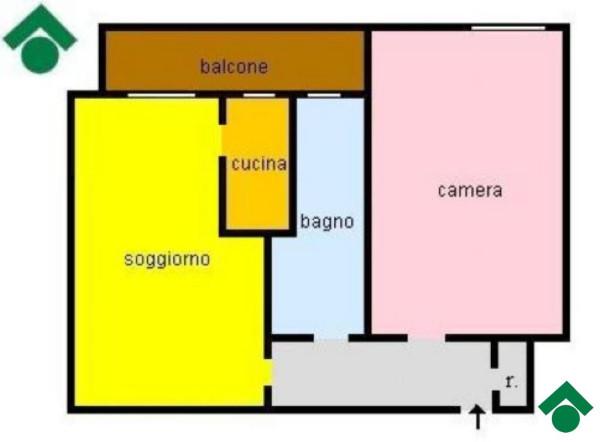 Bilocale Sesto San Giovanni Via Modena 9