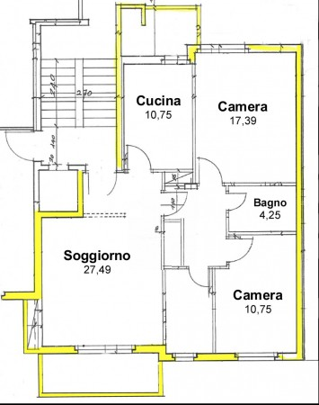 Bilocale Cadoneghe Via Arturo Toscanini 13