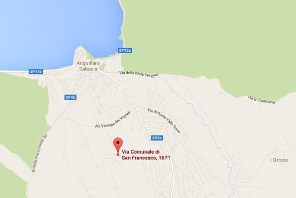Bilocale Anguillara Sabazia Via Comunale Di San Francesco 10
