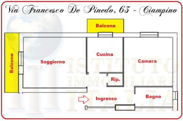 Bilocale Ciampino Via Francesco De Pinedo 2