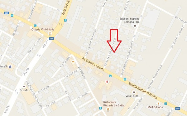 Bilocale Bologna Via G. N. Pasquali Alidosi 13