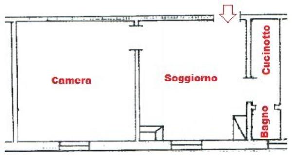 Bilocale Bologna Via G. N. Pasquali Alidosi 2