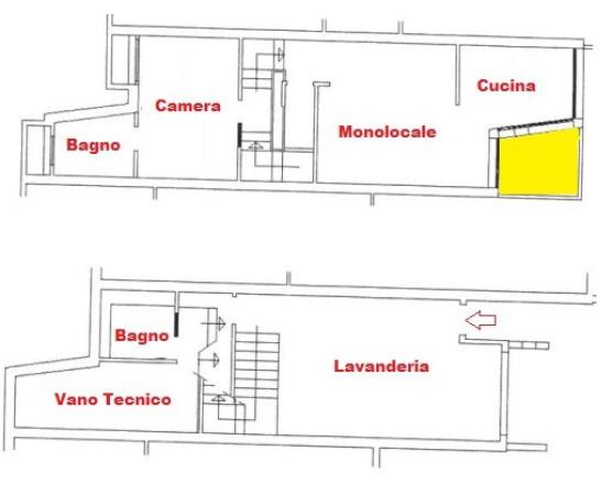 Bilocale Monghidoro Via San Michele 2