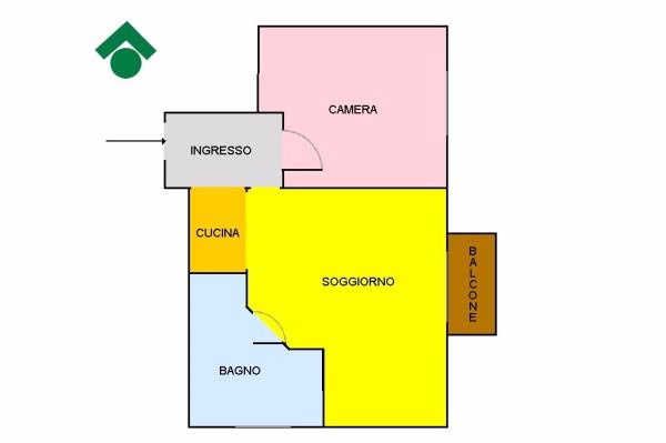 Bilocale Milano Via Luigi Varanini, 8 13