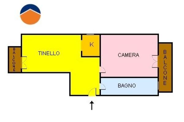 Bilocale Collegno Piazza Della Repubblica 1
