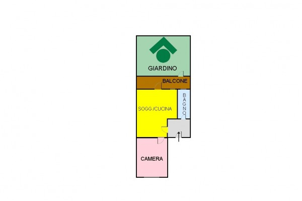 Bilocale Milano Via Monte Generoso, 32 1