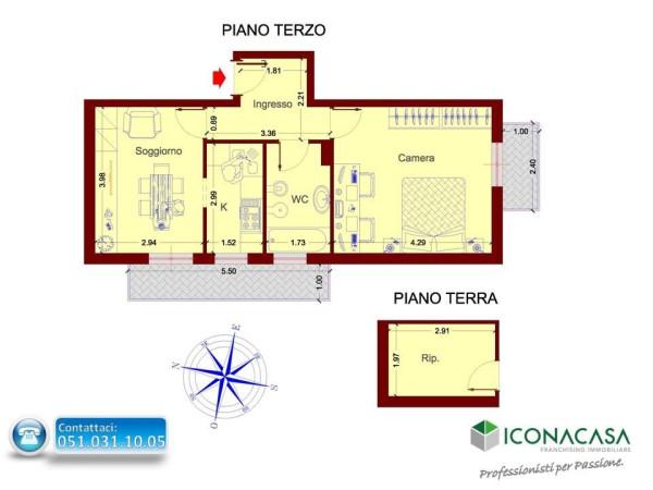 Bilocale Bologna Via Claudio Treves 2