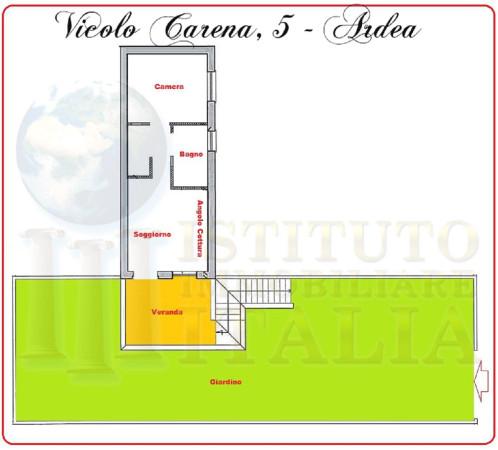 Bilocale Ardea Vicolo Carena 2