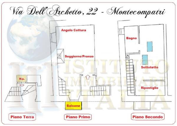 Bilocale Monte Compatri Via Dell'archetto 2