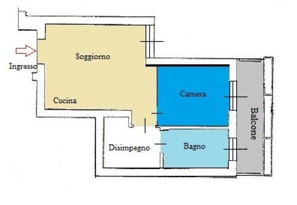 Bilocale Pioltello Via Massimo D'antona 4