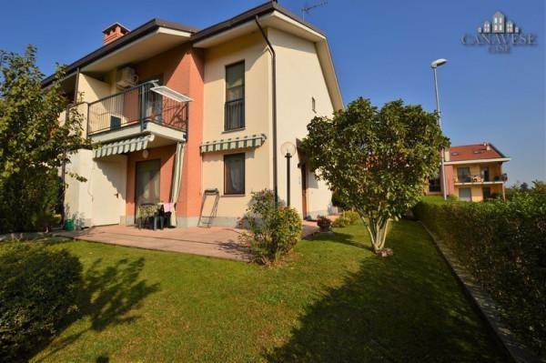 Villa in Vendita a San Giorgio Canavese Centro: 5 locali, 107 mq