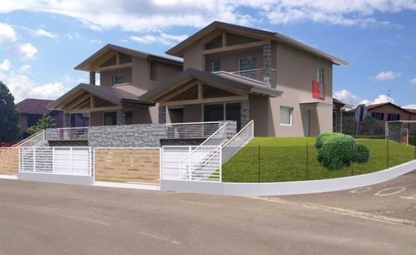 Villa in vendita a Daverio, 5 locali, prezzo € 380.000 | Cambio Casa.it