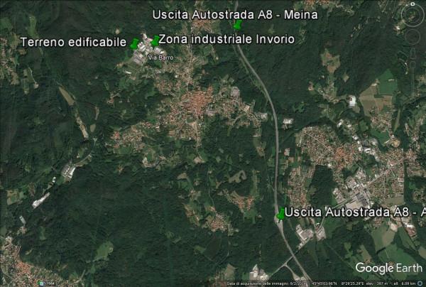 Vendesi terreno edificabile in zona Industriale ad Invorio (NO) 9452Mt. Rif.9161855