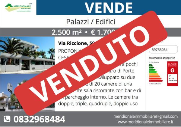 Palazzo / Stabile in vendita a Porto Cesareo, 6 locali, prezzo € 1.700.000 | Cambio Casa.it