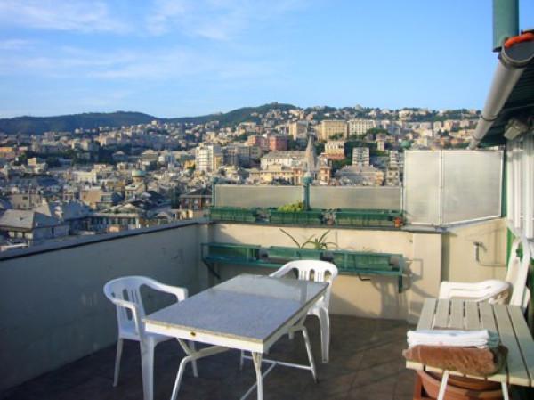 Attico in Affitto a Genova Centro: 2 locali, 30 mq
