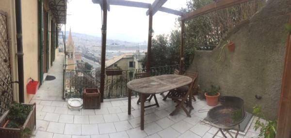 Appartamento in Affitto a Genova Semicentro Est: 5 locali, 140 mq