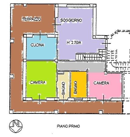 Appartamento in affitto a Borgo San Dalmazzo, 5 locali, prezzo € 650 | Cambio Casa.it