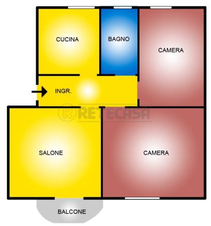 Appartamento in affitto a Monterotondo, 3 locali, prezzo € 600 | Cambio Casa.it