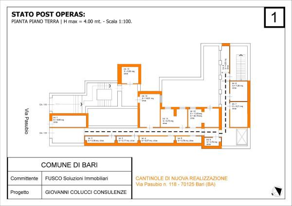 Posto-box auto in Vendita a Bari Centro: 10 mq