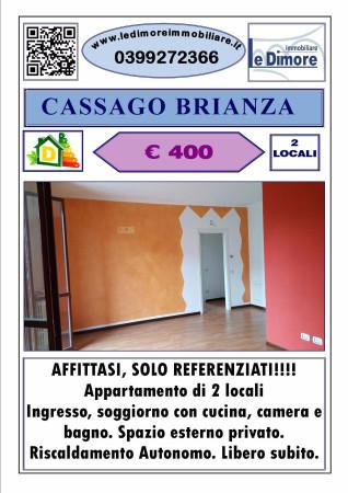Appartamento in affitto a Cassago Brianza, 2 locali, prezzo € 400 | Cambio Casa.it