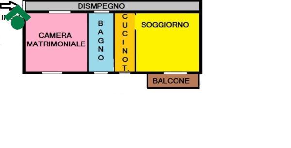 Bilocale Pozzuolo Martesana Via Gioacchino Rossini, 2 1