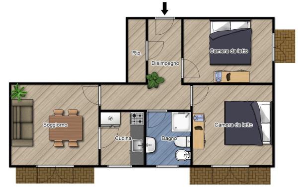 Appartamento in Vendita a Finale Ligure: 4 locali, 70 mq