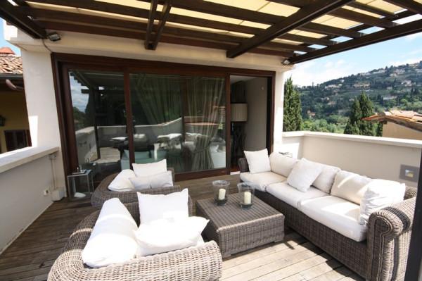 Attico / Mansarda in affitto a Firenze, 4 locali, zona Zona: 17 . Collina Nord, prezzo € 2.250 | Cambio Casa.it