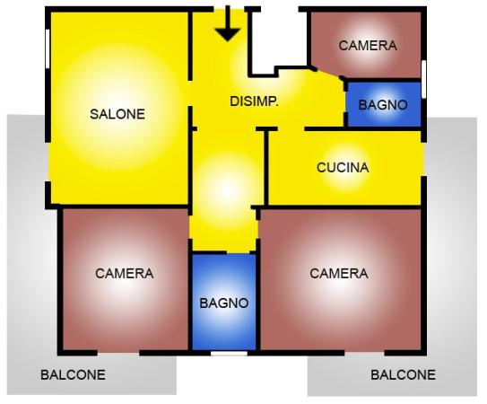 Appartamento in vendita a Ladispoli, 5 locali, prezzo € 210.000 | Cambio Casa.it