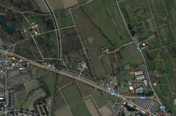 Terreno commerciale in Vendita a Milano 28 Vialba / Musocco / Lampugnano: 1070 mq