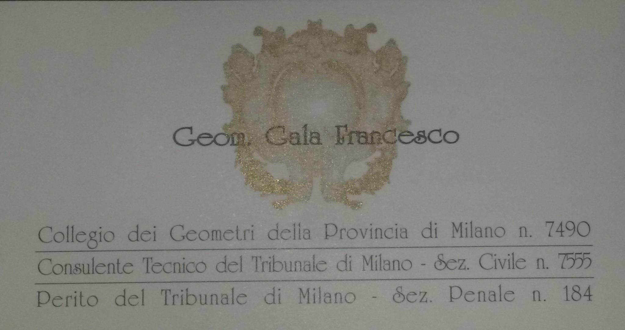 Geometra gala francesco