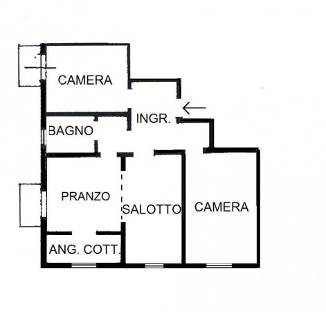 Vendita  bilocale Venezia Via Guido Negri 1 861858