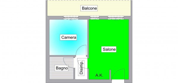 Vendita  bilocale Guidonia Montecelio Via Ugo Foscolo 1 537053