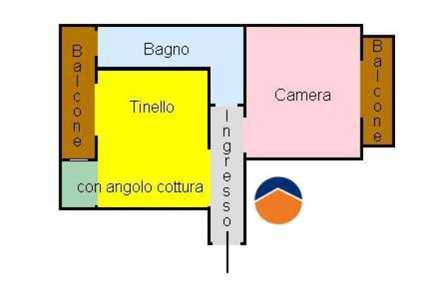 Vendita  bilocale Torino  1 576035