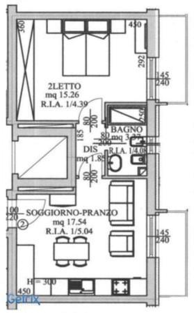 Affitto  bilocale Forli Via A. Facchinei 1 523145
