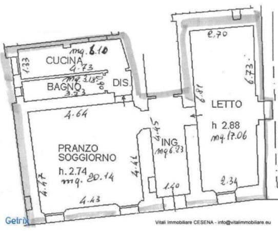 Affitto  bilocale Bertinoro Piazza Libertà 1 510415