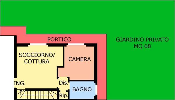 Vendita  bilocale Canonica d Adda Via Bergamo 1 900261