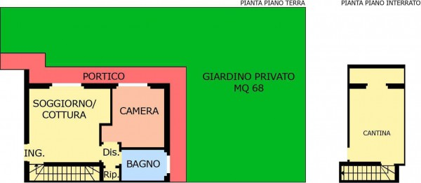 Vendita  bilocale Canonica d Adda Via Bergamo 1 1385178