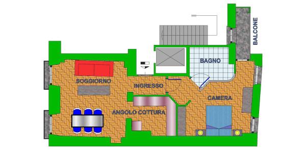 Affitto  bilocale Torino Piazza Emanuele Filiberto 1 611619