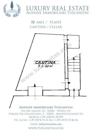Vendita  bilocale Pienza Via Verde 1 635298